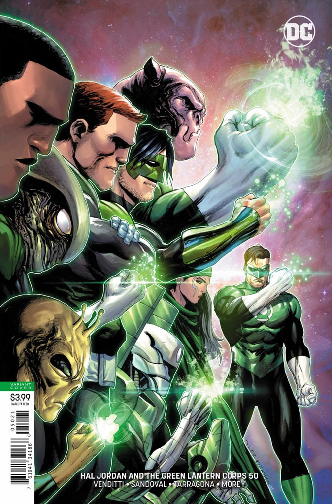 Hal Jordan and the Green Lantern Corps (2016 Series) #50 (Variant Cover - Tyler Kirkham)