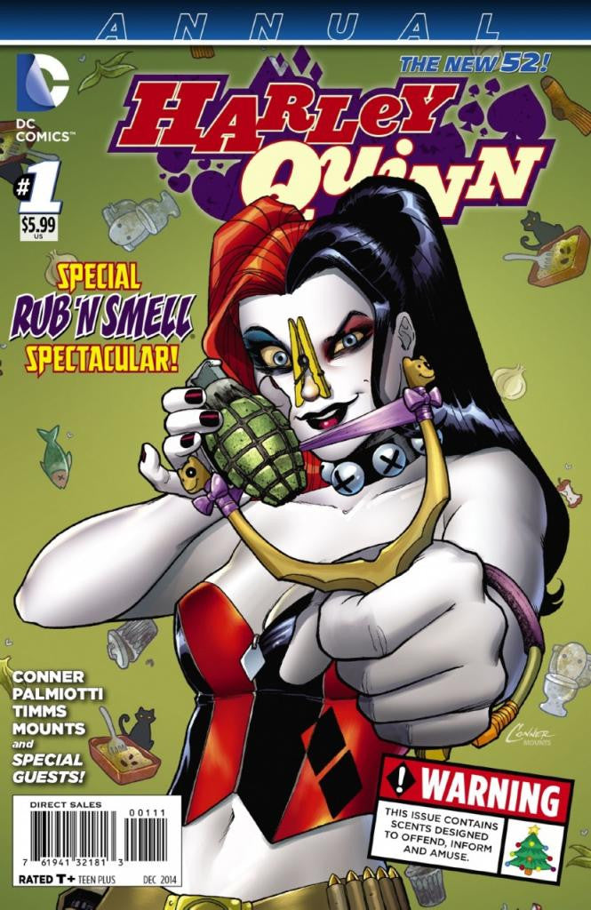 Harley Quinn (2013 Series) Annual #1 (Regular International Cover - Amanda Conner)