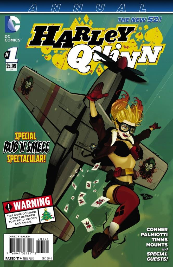 "Harley Quinn (2013 Series) Annual #1 (Variant ""Bombshells"" International Cover - Ant Lucia)"