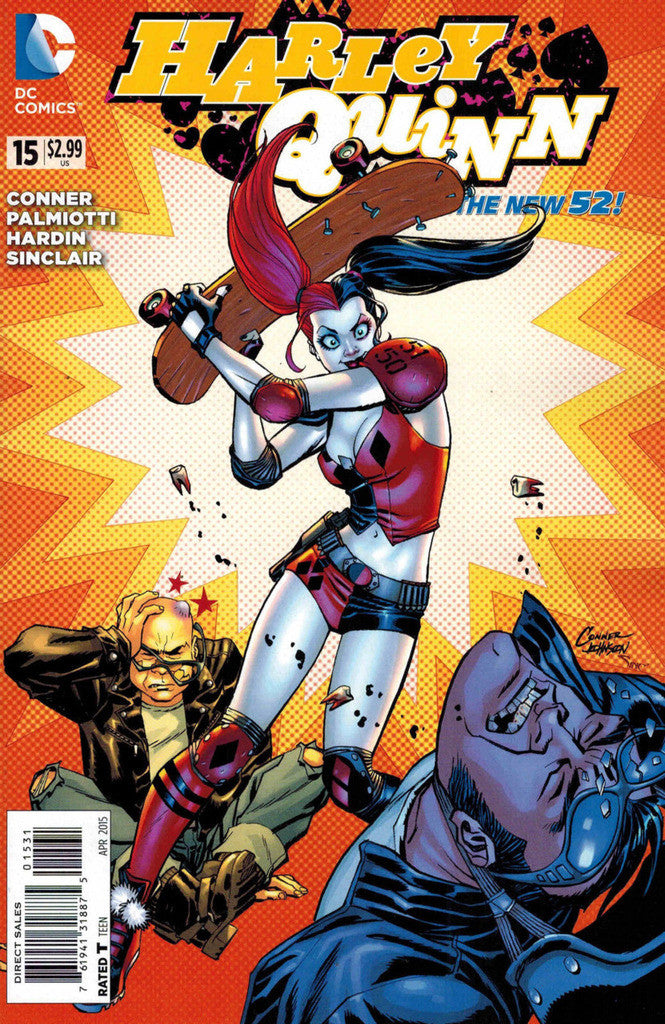 Harley Quinn (2013 Series) #15 (Variant Incentive Cover - Amanda Conner)