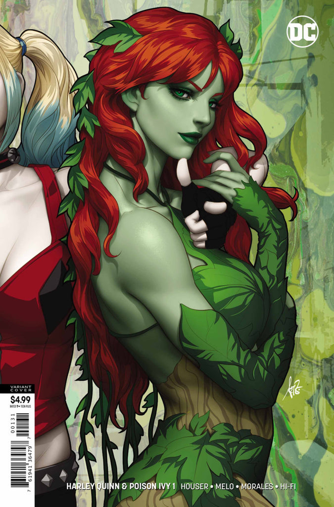 "Harley Quinn & Poison Ivy (2019 mini-series) #1 (of 6) (Variant ""Poison Ivy"" Card Stock Cover - Artgerm)"