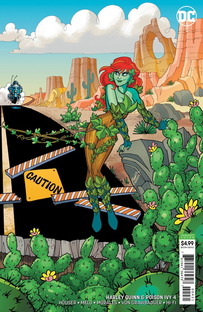 "Harley Quinn & Poison Ivy (2019 mini-series) #4 (of 6) (Variant ""Poison Ivy"" Card Stock Cover - Amanda Conner)"