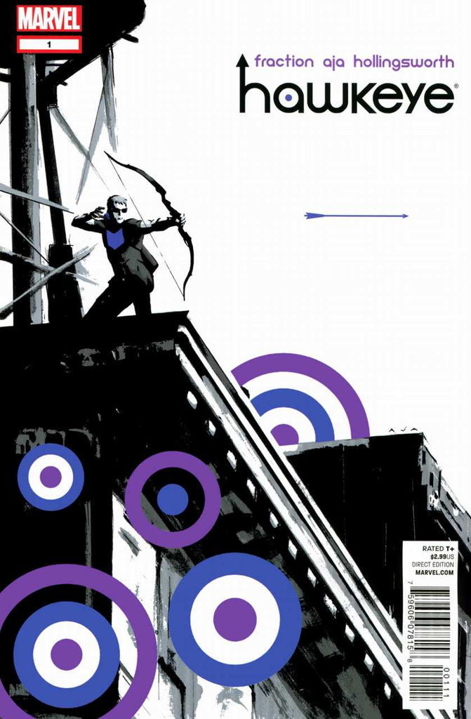 Hawkeye (2012 Series) #1 (Regular Cover - David Aja)