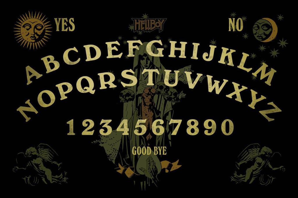 Ouija Board Game – Hellboy Talking Board