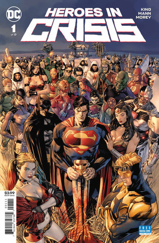 Heroes in Crisis (2018 mini-series) #1-9 [SET] — Welcome to Sanctuary (All Regular Covers)