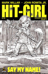 "Kick-Ass (2012 mini-series) #1-5 [SET] — Volume 02 Prelude: Hit-Girl (All Variant Incentive ""B"" Sketch Covers)"