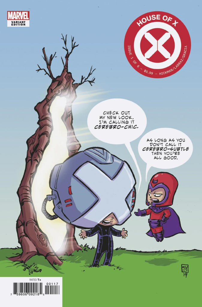 "House of X (2019 mini-series) #1 (of 6) (Variant ""Baby"" Cover - Skottie Young)"