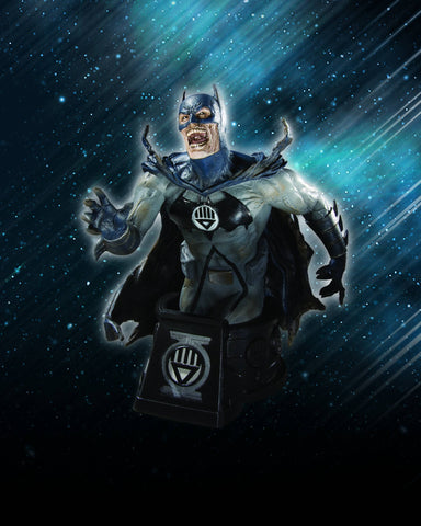 Heroes of the DC Universe (Blackest Night) – Black Lantern Batman Bust