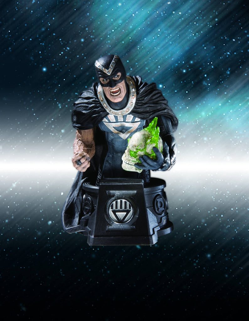 Heroes of the DC Universe (Blackest Night) – Black Hand Bust