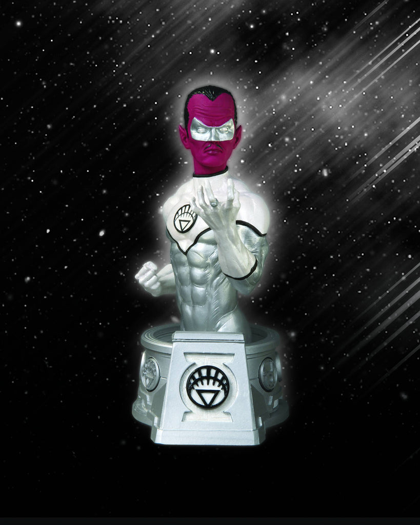 Heroes of the DC Universe (Blackest Night) – White Lantern Sinestro Bust
