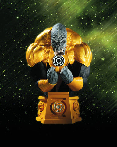 Heroes of the DC Universe (Blackest Night) – Sinestro Corps Arkillo Bust