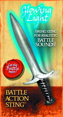 "Hobbit; An Unexpected Journey (Film) – ""Sting"" Deluxe Battle Action 18"" Sword of Bilbo Baggins with Ring"
