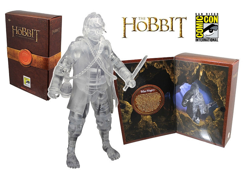 "Hobbit; An Unexpected Journey (Film) – Bilbo Baggins (Variant Invisible Version) Boxed 6"" Figure (SDCC 2012 Exclusive)"