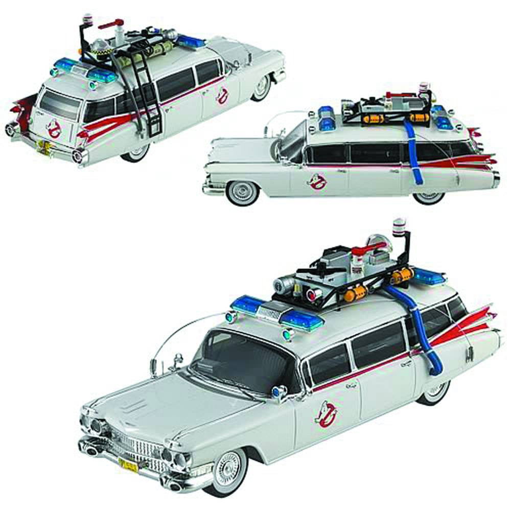 Hot Wheels – HW Elite Cult Classics – Ghostbusters (Film) Ecto-1 1/43  Scale Die-Cast Vehicle