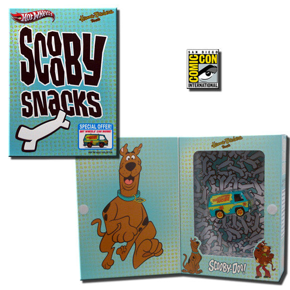 Hot Wheels – Scooby-Doo's Mystery Machine Collector's Die-Cast Car in Scooby Snacks Box (SDCC 2012 Exclusive)