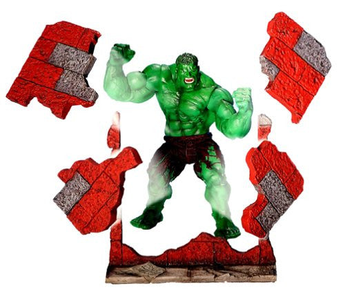 "Hulk (Film) – Series 2 – Twist 'n Slam Hulk 6"" Figure with Collapsible Brick Wall"