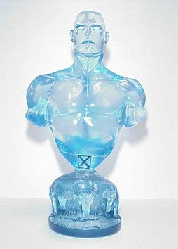 X-Men – Iceman Bust (Variant 2002 Clear Edition)