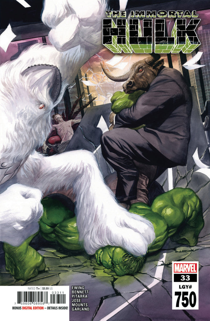 Immortal Hulk (2018 series) #33 (Regular Cover - Alex Ross)