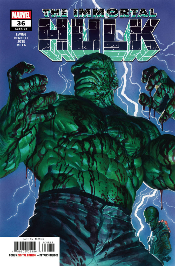 Immortal Hulk (2018 series) #36 (Regular Cover - Alex Ross)