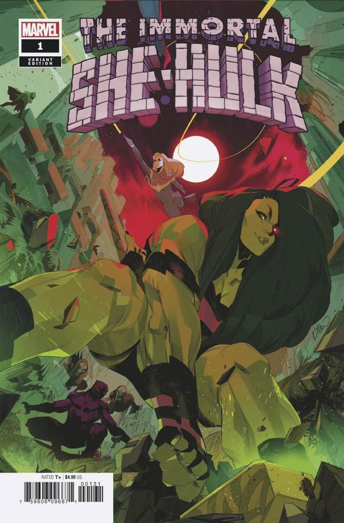 "Immortal She-Hulk (2020 one-shot) #1 (Variant ""Empyre"" Cover - Simone Di Meo)"