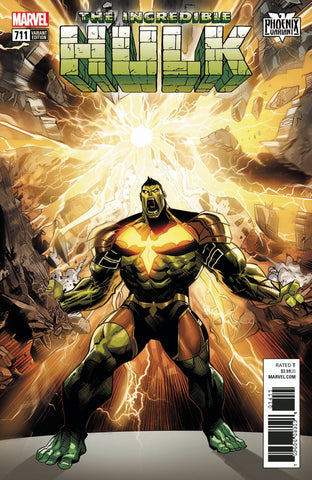 "Incredible Hulk (2015 Series) #709 (Variant ""Phoenix"" Cover - Dan Mora)"