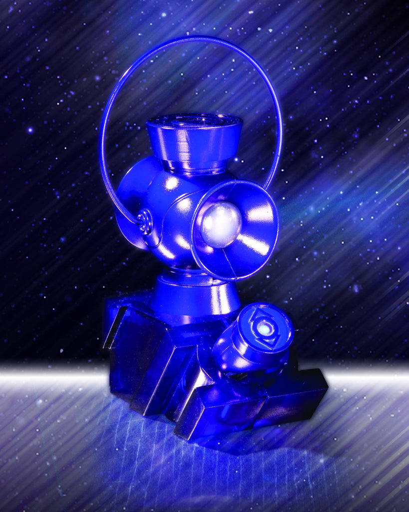 Indigo Lantern 1:4 Scale Power Battery & Ring Prop