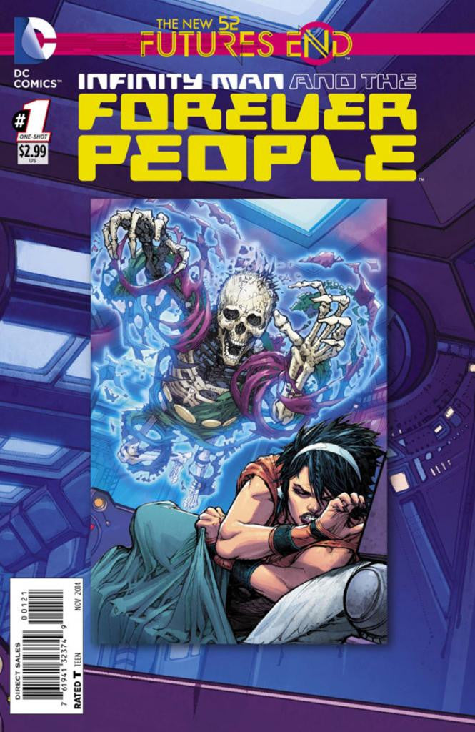 Infinity Man and the Forever People: Future's End (2014 One-Shot) #1 (Regular Cover - Howard Porter)