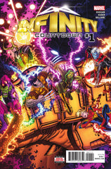 Infinity Countdown (2018 mini-series) #1 (A Multi-Title Crossover) [SET] — The End Approaches (All Regular Covers)