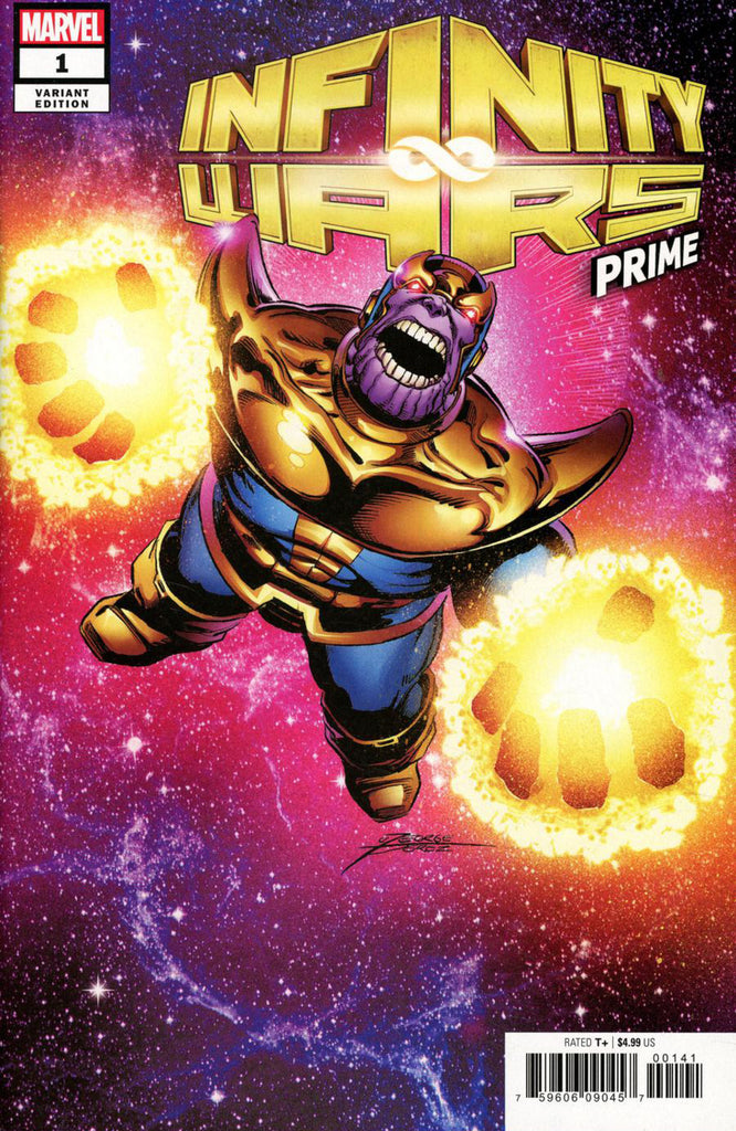 "Infinity Wars; Prime (2018 one-shot) # 1 (Variant ""Artist"" Cover - George Perez)"