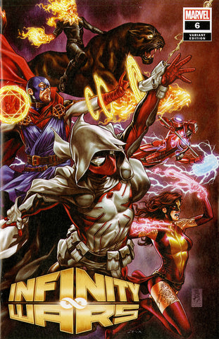 "Infinity Wars (2018 mini-series) #6 (of 6) (Variant ""Artist"" Cover - Mark Brooks)"