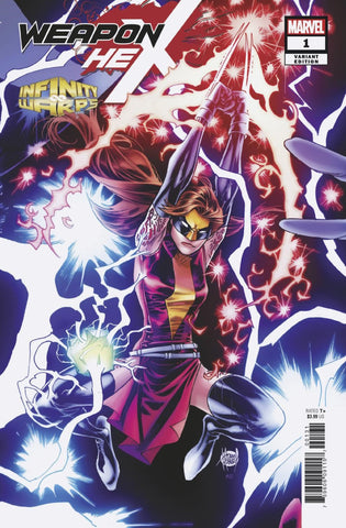 Infinity Wars; Weapon Hex (2018 mini-series) #1 (of 2) (Variant Cover - Adam Kubert)