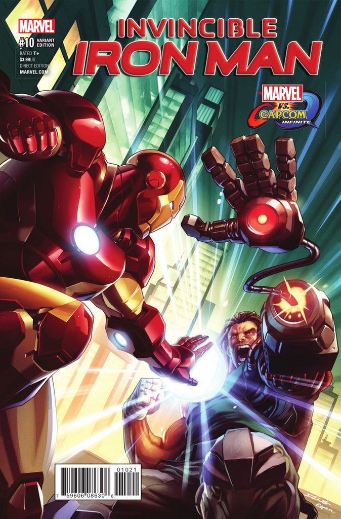 "Invincible Iron Man (2016 Series) #10 (Variant ""Marvel vs. Capcom: Infinite"" Cover - Joe Ng)"