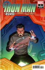 "Iron Man (20120 mini-series) #1-6 [SET] — Volume 05:  Iron Man 2020; The Robot Revolution (All Variant ""Artist"" Covers)"