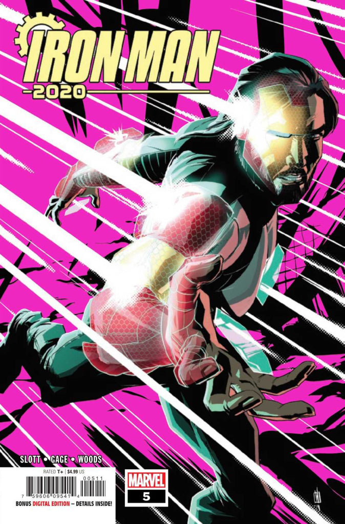 Iron Man 2020 (2019 series) #5 (of 6) (Regular Cover - Pete Woods)