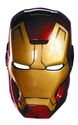 Iron Man 3 (Film) – Iron Man Mark 42 Helmet – Adult Vacuform Mask