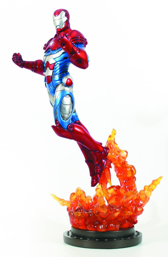Iron Man – The Iron Patriot – Full-Size Statue