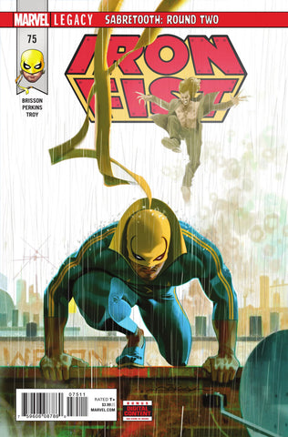 Iron Fist (2017 Series) #75