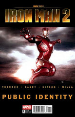 Marvel Cinematic Universe — Iron Man 2 (2010 mini-series) #1-3 [SET] — Public Identity; The Official Iron Man 2 Prelude