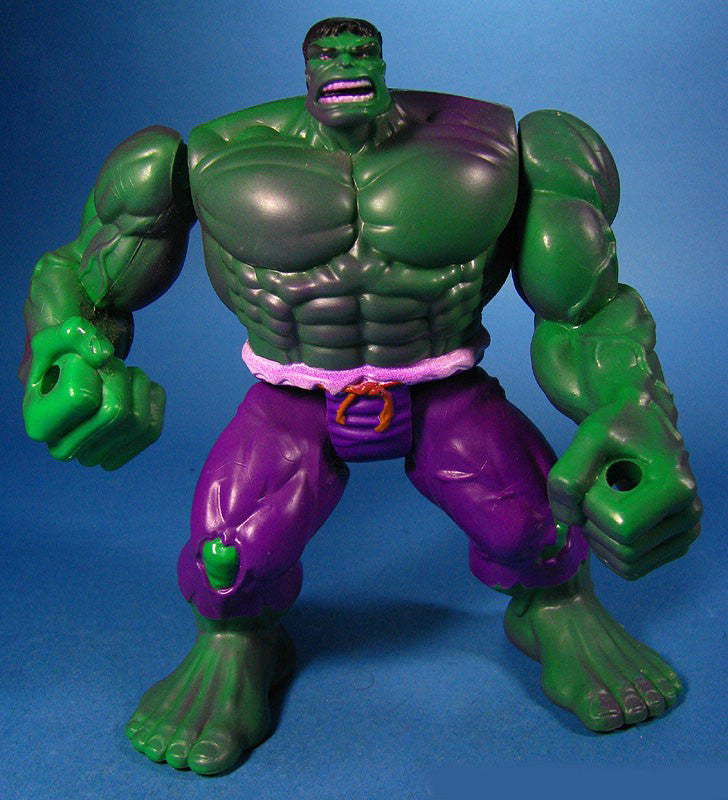 Incredible Hulk Series – Rampaging Hulk Figure with Collapsible Wall