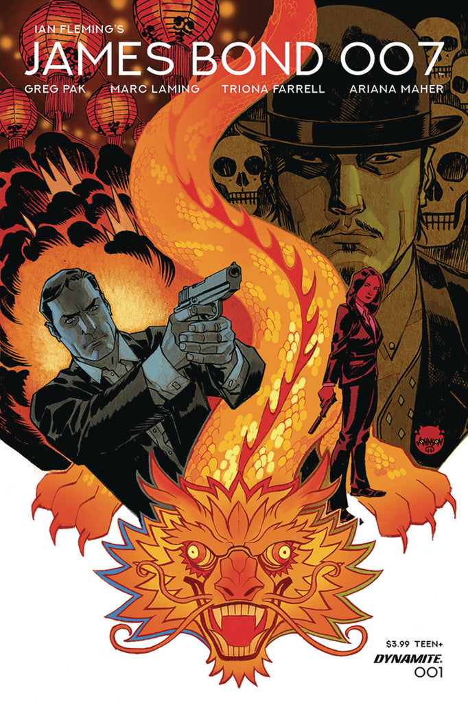 "James Bond; 007 (2018 series) #01-6 [SET] — Volume 01: The Odd Job (All Regular ""A"" Covers)"