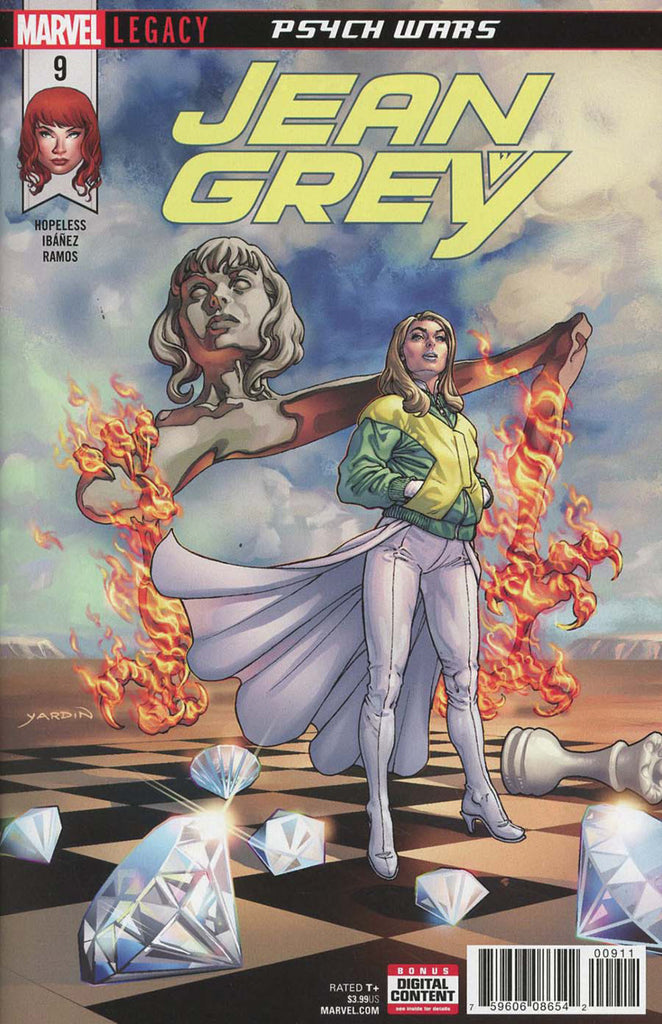Jean Grey (2017 Series) #9 (Regular Cover - David Yardin)