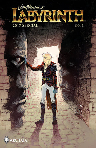 Jim Henson's Labyrinth (2017 mini-series) 2017 Special #1 (Variant Subscription Cover - Jeff Stokely)