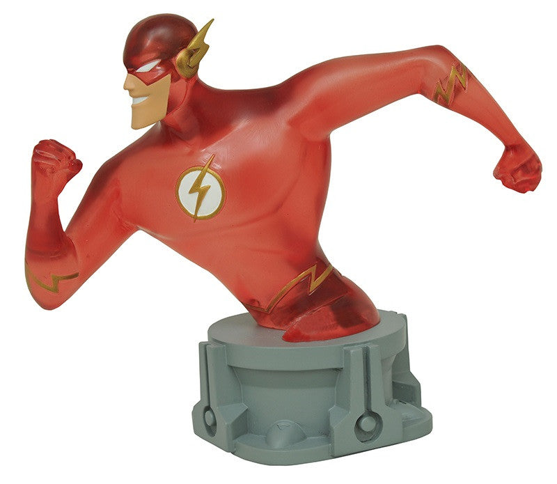 "J.L.A. Animated Series – The Flash Bust (Variant ""Speed-Force"" Edition) (SDCC 2017 Exclusive)"
