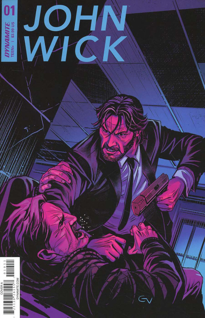 "John Wick (2017 mini-series) #1 (of 5) (Regular ""A"" Cover - Giovanni Valleta)"