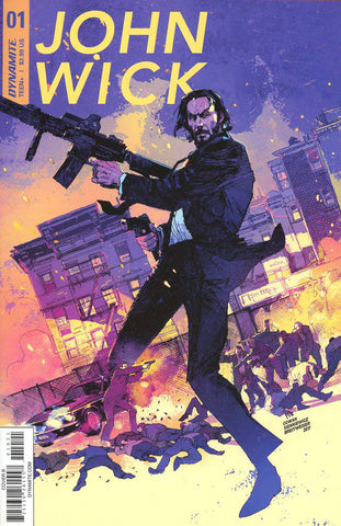 "John Wick (2017 mini-series) #1-5 [SET] — Volume 0: The Book of Rules (All Variant ""B"" Covers)"
