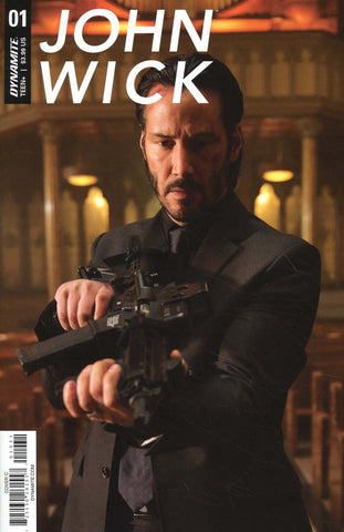 "John Wick (2017 mini-series) #1-5 [SET] — Volume 0: The Book of Rules (All Variant ""C"" Covers)"