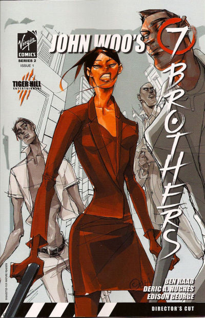 John Woo's Seven Brothers (2007 mini-series) #1-5 [SET] — Book 02: The Dragonov Equation