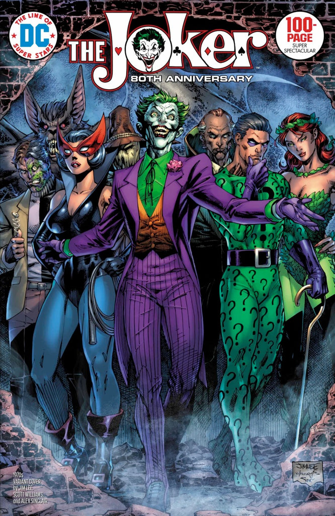 "Joker 80th Anniversary 100 page Super Spectacular (2020 one-shot) #1 (Variant ""1970's"" Cover - Jim Lee)"