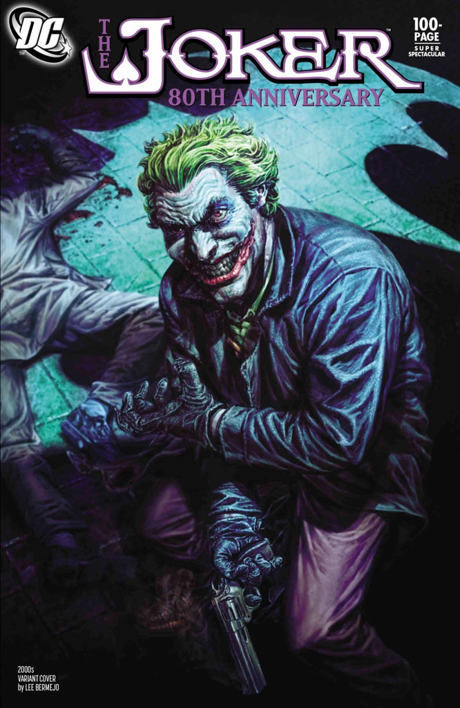 "Joker 80th Anniversary 100 page Super Spectacular (2020 one-shot) #1 (Variant ""2000's"" Cover - Lee Bermejo)"