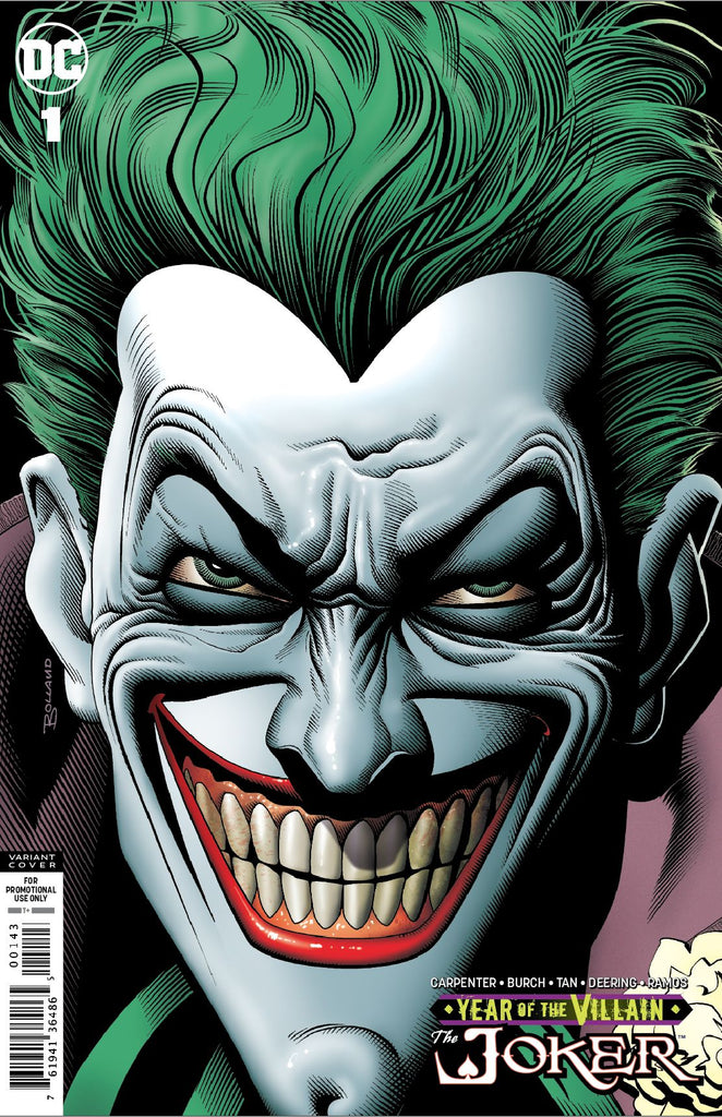 "Joker; Year of the Villain (2019 one-shot) #1 (Variant ""Retailer Gift"" Cover - Brian Bolland)"